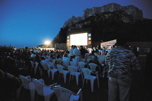 Festival Cinema Tavolara foto arena 2002