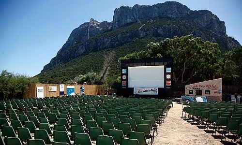 Festival Cinema Tavolara foto arena 2004