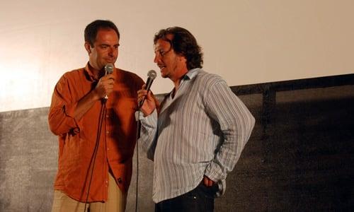 Festival del Cinema Tavolara 2007 Neri Marcorè e Gabriele Muccino