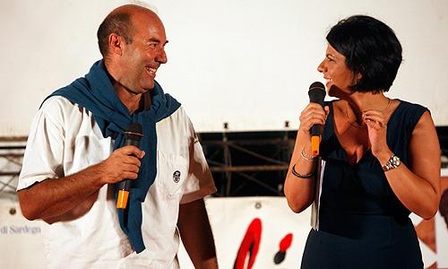 Festival del Cinema Tavolara 2011 - uno dei volontari del festival