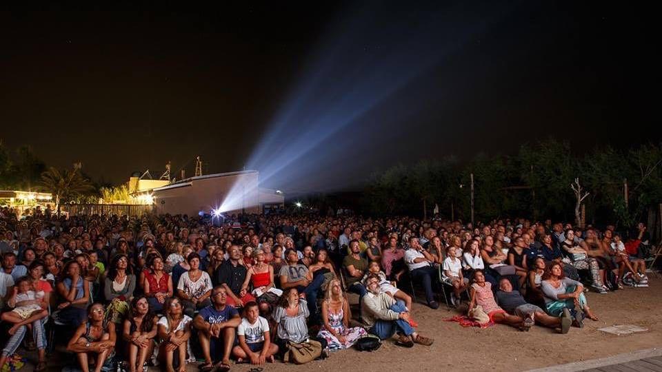 Proiezione notturna al Festival del Cinema di Tavolara 2016
