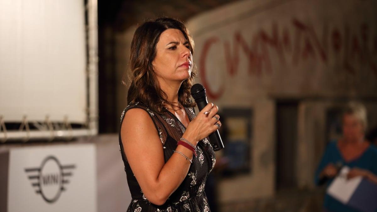 Geppi Cucciari al Festival del CInema di Tavolara 2018